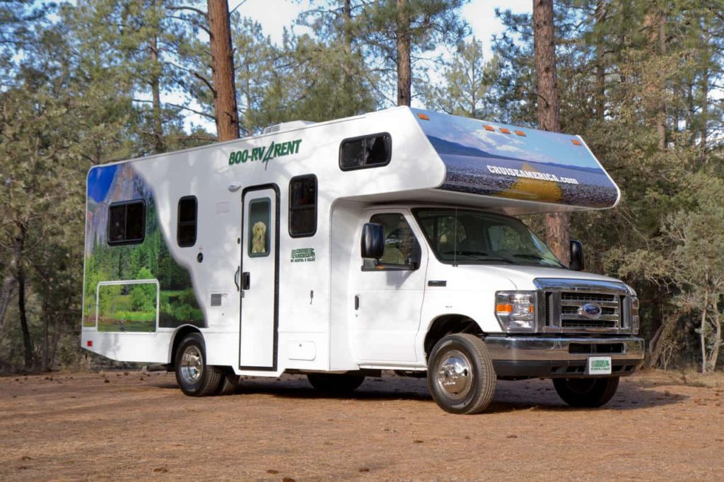An RV for rent