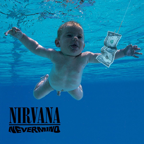 Nirvana's Nevermind baby keeps offering to pose nude