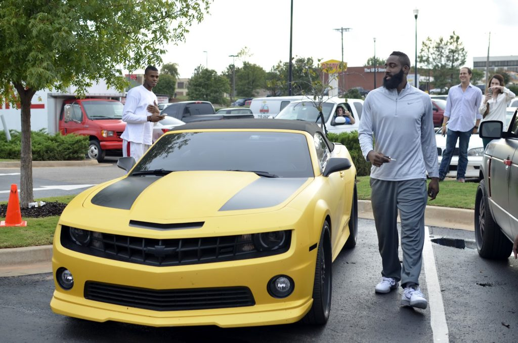 James Harden - Chevy Camaro