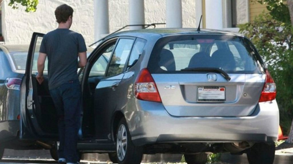 Mark Zuckerberg – Honda Fit