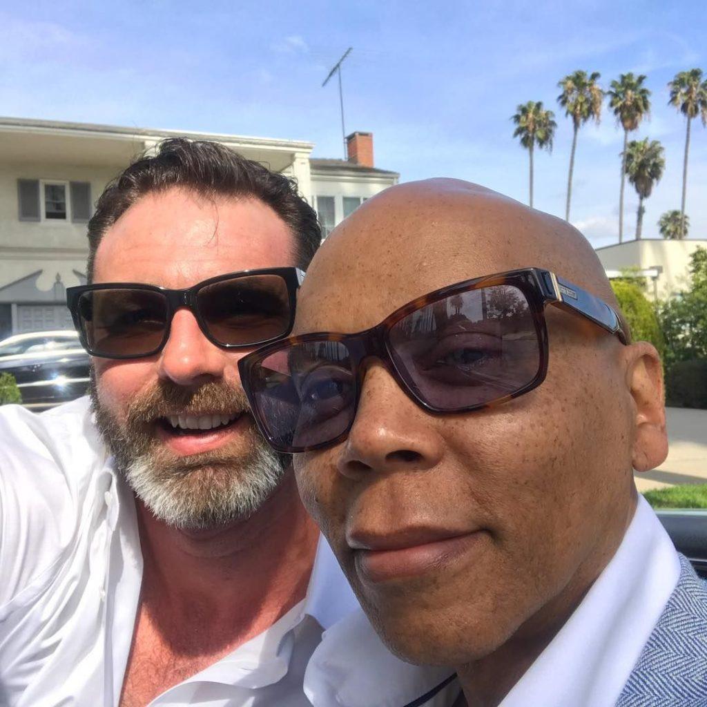Met Georges LeBar, RuPaul's husband
