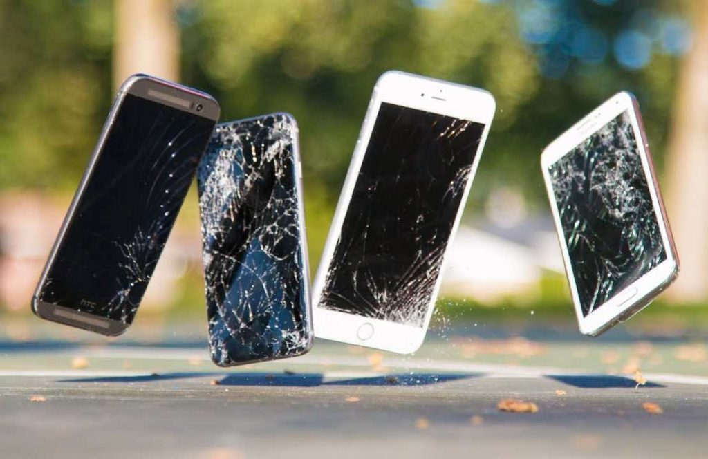 What to do when an LCD screen breaks