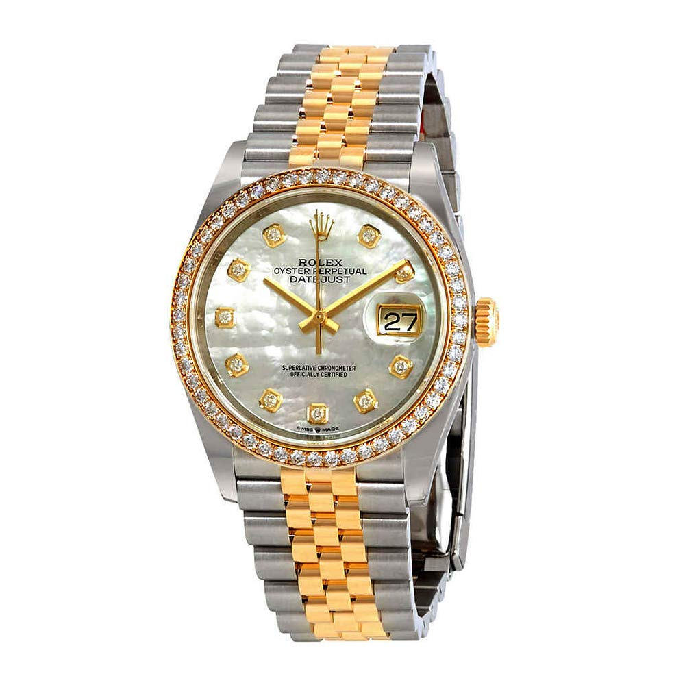 Datejust 36 Mother of Pearl Dial Watch