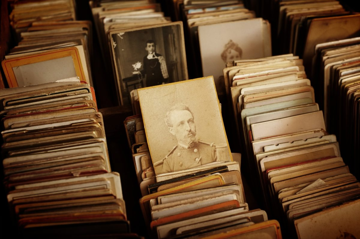 Inherited memorabilia can help in the study of your family tree