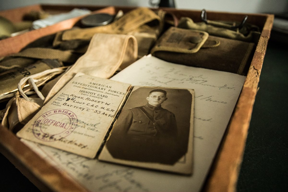 Search for family members in military records