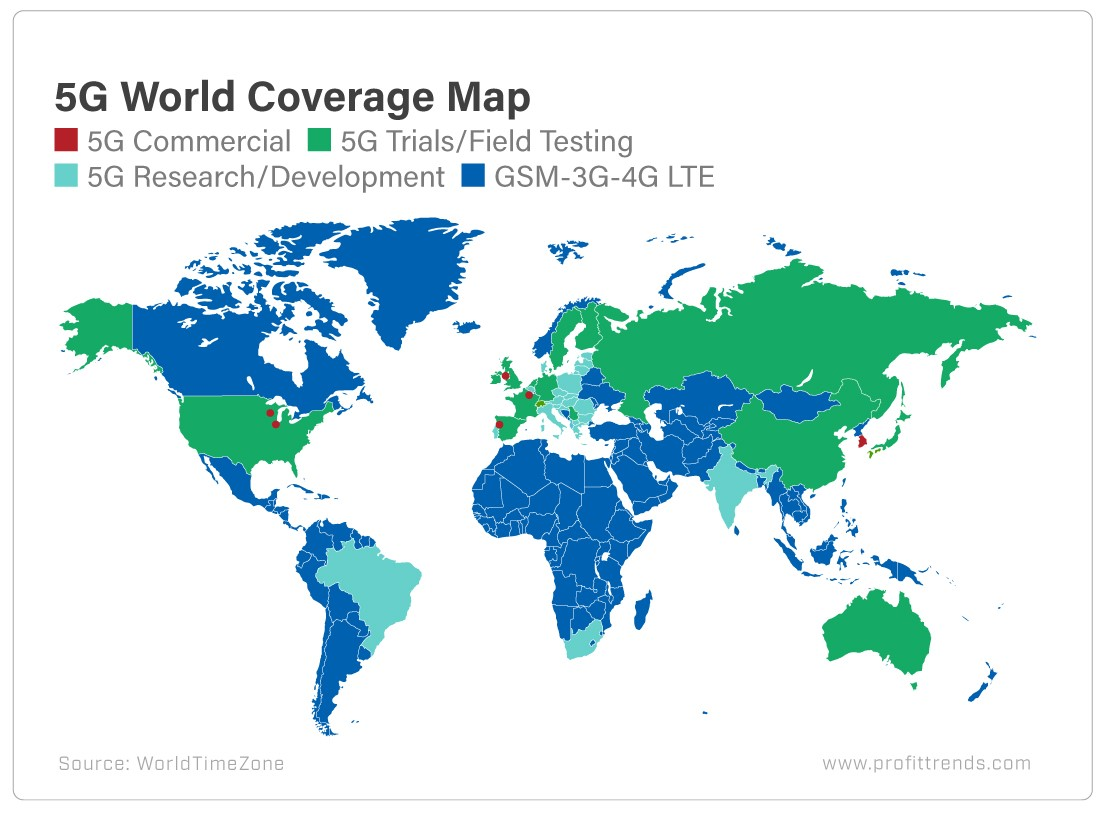 Is 5G Network To Blame For Coronavirus Pandemic? - Chart ...